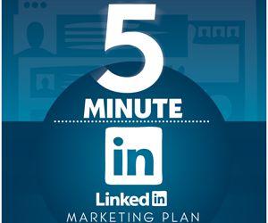 LinkedIn Marketing Strategy Infographic