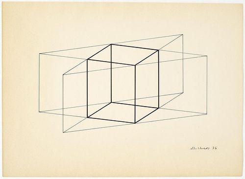 Josef Albers - Structural Constellation, 1936
