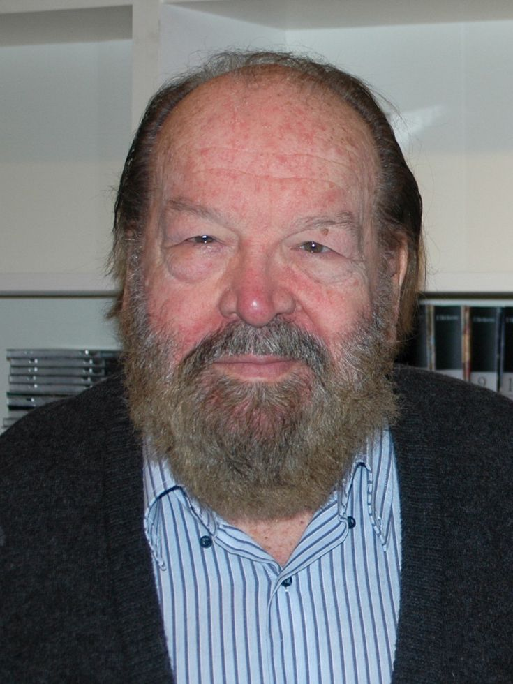 Bud Spencer, actor best known for his comedic roles in spaghetti Westerns with Terrence Hill, died Jun 27th at the age of 86. (photo from Wikipedia)