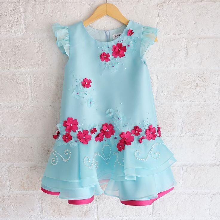 ---Poppy trolls dress--- #poppytroll #trollsparty #honeybeekids #kidsdress #babydress#honeybee_kids #instakids
