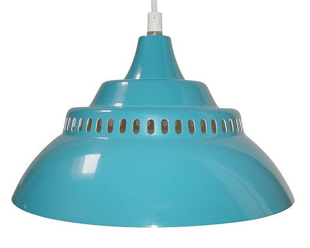 Lampe Suspension Turquoise Waterquest - Lili's