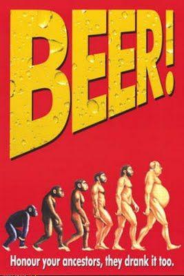 evolucion de la relacion hombre/cerveza