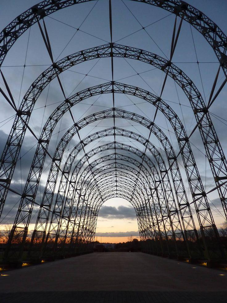 Portable airship hangar, Farnborough