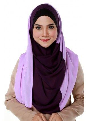 Mystical Purple Shawl