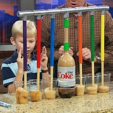 Steve Spangler Science.  Looks great for STEM!  Has explanations on how and why the experiments work!