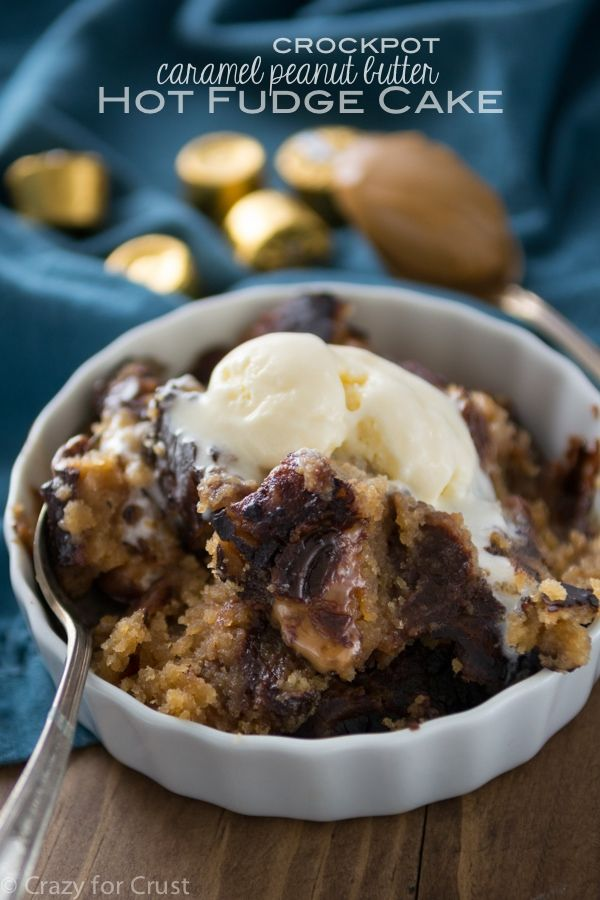 ... Peanut, Butter Hot, Slow Cooker, Hot Fudge Cakes, Cooker Caramel