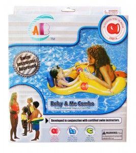 70.000  Sejenis ban renang untuk melatih bayi agar tidak takut dengan aird dan memungkinkan anak untuk menikmati air bersama keluarga. 1 lubang untuk ibu atau ayah agar mereka tetap dekat dengan bayi,dan satu lagi untuk bayi dengan bukaan kaki,ada mainan tepat di depan si anak untuk dimainkan sambil di atas air.ukuran 69×102 cm.volume 1 kg.