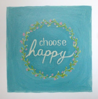 Warrior Girl- art and transformation: Choose Happy, by Rowena MurilloRowena Murillo, Quotes Inspiration, Quotes Happy, Joy Happy, Choose Happy, Warriors Girls, Inspiration Quotes, Quotes Captions Cartoons, Choo Happy