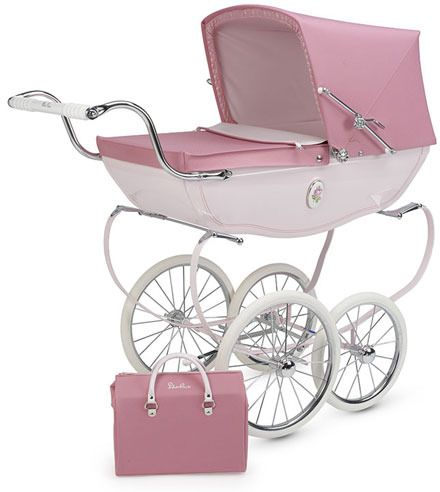 Silver Cross Pram. The Rolls Royce of strollers. If my grandma is still around when babies show up, I bet she'll get me one, she loves them more than I do.