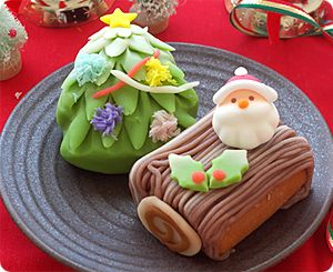 Kawaii Christmas Wagashi
