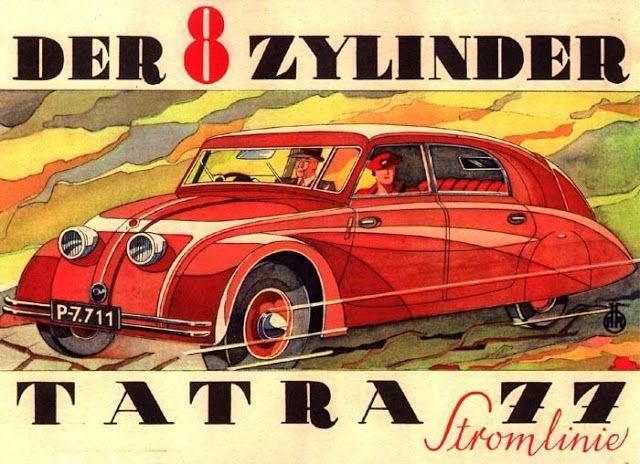 Storie di vecchie auto...                    per non dimenticare...: La prima aerodinamica