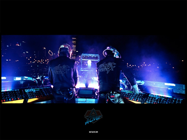 Daft Punk - the godfathers of techno. I will LOVE THEM FOREVER.