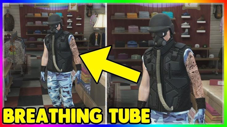 BREATHING TUBE on ANY OUTFIT  (GTA Online Clothing Glitch 1.41)  Obtain ...