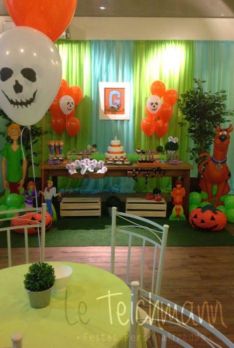 Encontrando Ideias: Festa Scooby Doo!!!