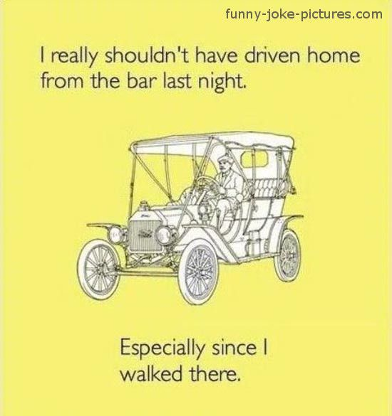 Funny Drunk Driving Joke Picture http://ibeebz.com