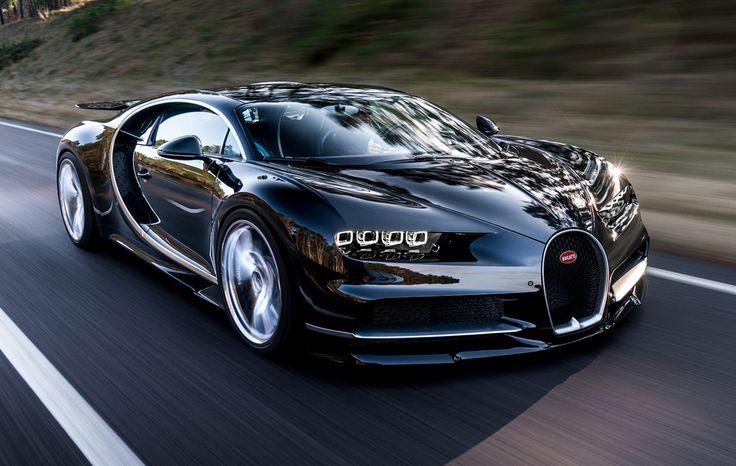 El nuevo diseño del Chiron es mucho más agresivo que el del Veyron.  Para saber más sobre los coches no olvides visitar marcasdecoches.org