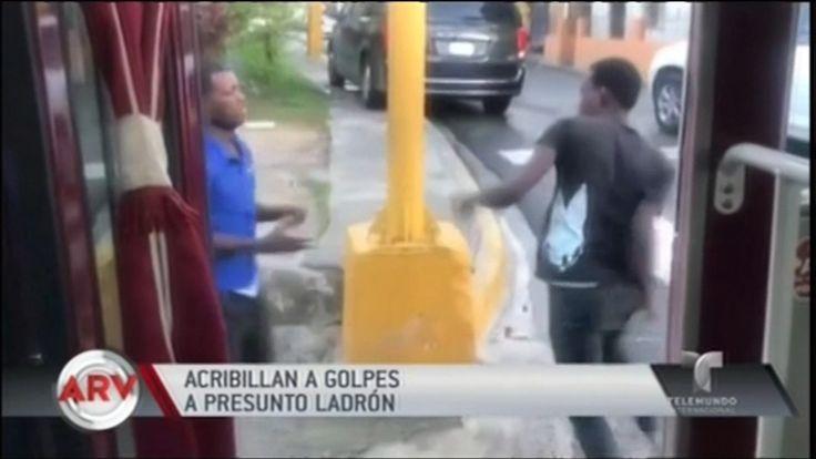 En Al Rojo Vivo Presentan Video De Ladrón En Guagua Pública RD