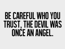 inspirational quote, trust quote, devil quote, angle quote