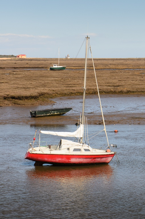 Day Four. Morston to Wells-next-the-Sea. Wells Harbour. North Norfolk Coast.