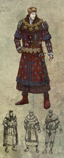 The Witcher 2 Concept Art - Foltest