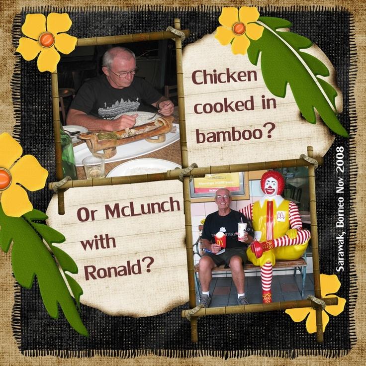 Chicken in Bamboo? - Scrapbook.com