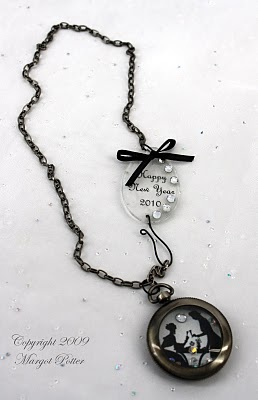 Another pinner said: One of my favorite jewelry designers, Margot Potter shows you how to make this MIXED MEDIA NEW YEAR'S NECKLACE for iLoveToCreate!