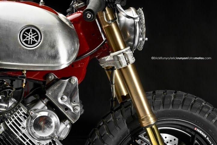 "Yamaha XV750 Virago Cafe Racer | ""GoGo"" - Grease n Gasoline"