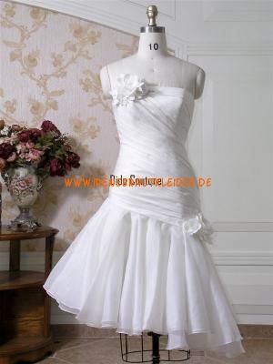 Kurze Modische Brautkleider aus Taft  Brautkleider  Pinterest