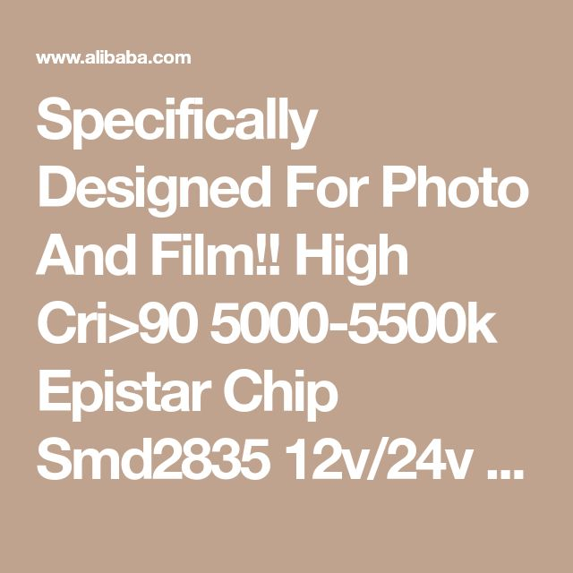 Specifically Designed For Photo And Film!! High Cri>90 5000-5500k Epistar Chip Smd2835 12v/24v Led Flexible Strip Light - Buy 2835 Smd Led Strip Light,Epistar Led Strip,Led Strip 95 Cri Product on Alibaba.com