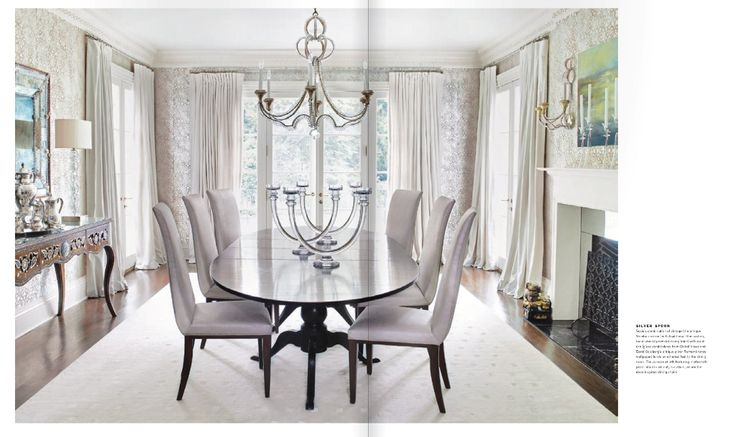 Niermann Weeks His Sleek Dining Room Features Both The Danieli Chandelier And Sconce Niermannweeks Rooms Kitchens