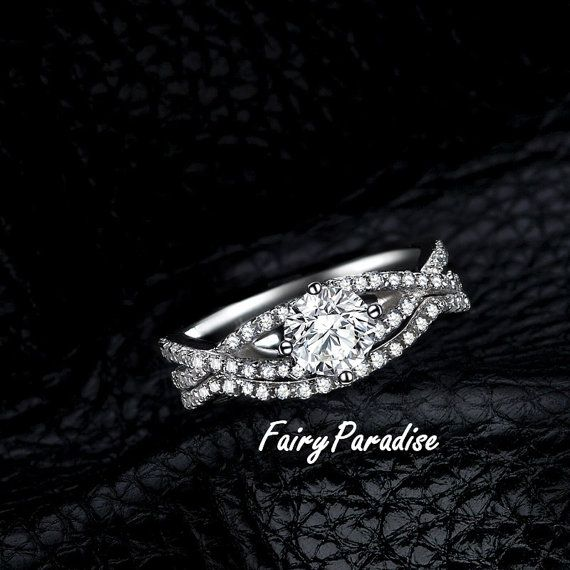 17 Best 1000 images about Bridal Wedding Ring Set on Pinterest Man