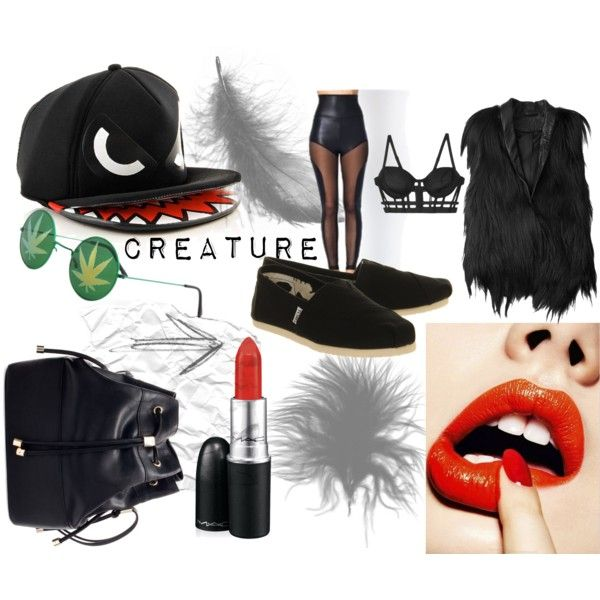 """creature"" by jessica-may-sinagra on Polyvore"