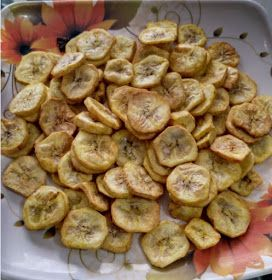 Veg Airfryer Recipes: Banana Chips in Airfryer
