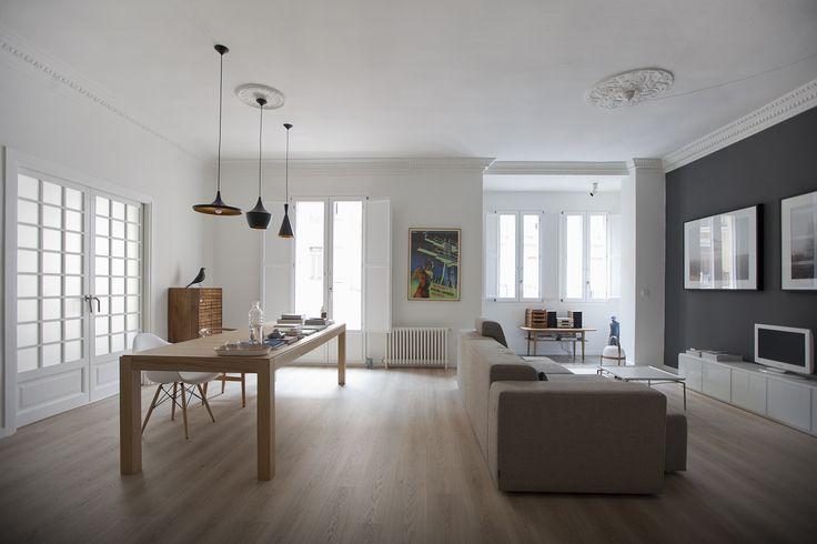 Rehabilitación de vivienda en centro de Valencia. Arquitecta Sonia Rayos - Tama Estudio.