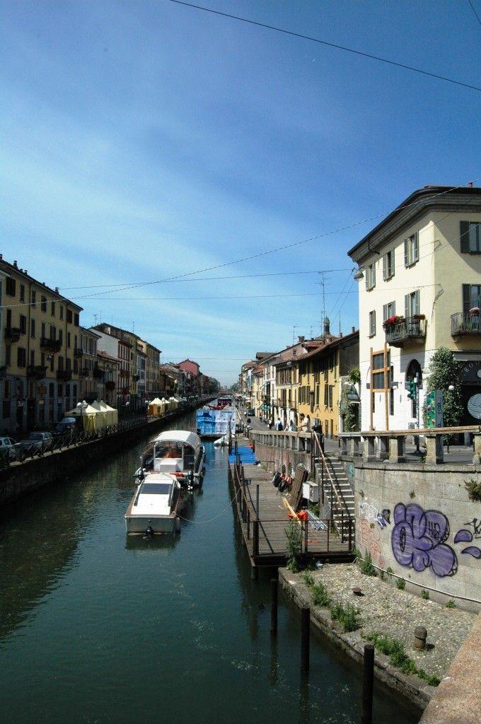 Milano, Naviglio Grande, uno scorcio