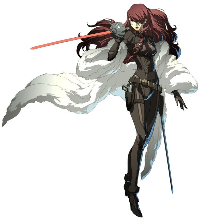 Mitsuru Kirijo - Characters & Art - Persona 4 Arena  (I personally LOVE this look for her, it's captures her personality perfectly.)