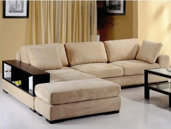"""Beverly Hills Telus Sectional Beige - 2-Piece Sectional Available in LHF/RHF Chaise. Dimensions: 114""""L x 36""""/61"""" x 28""""."""