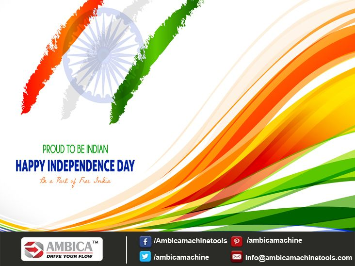We Are Feel Proud To Be An Indian... Love Our Nation, Work For Our Nation, Work For Our Nation To Grow. Happy Independence Day..! #Happy_Independence_Day