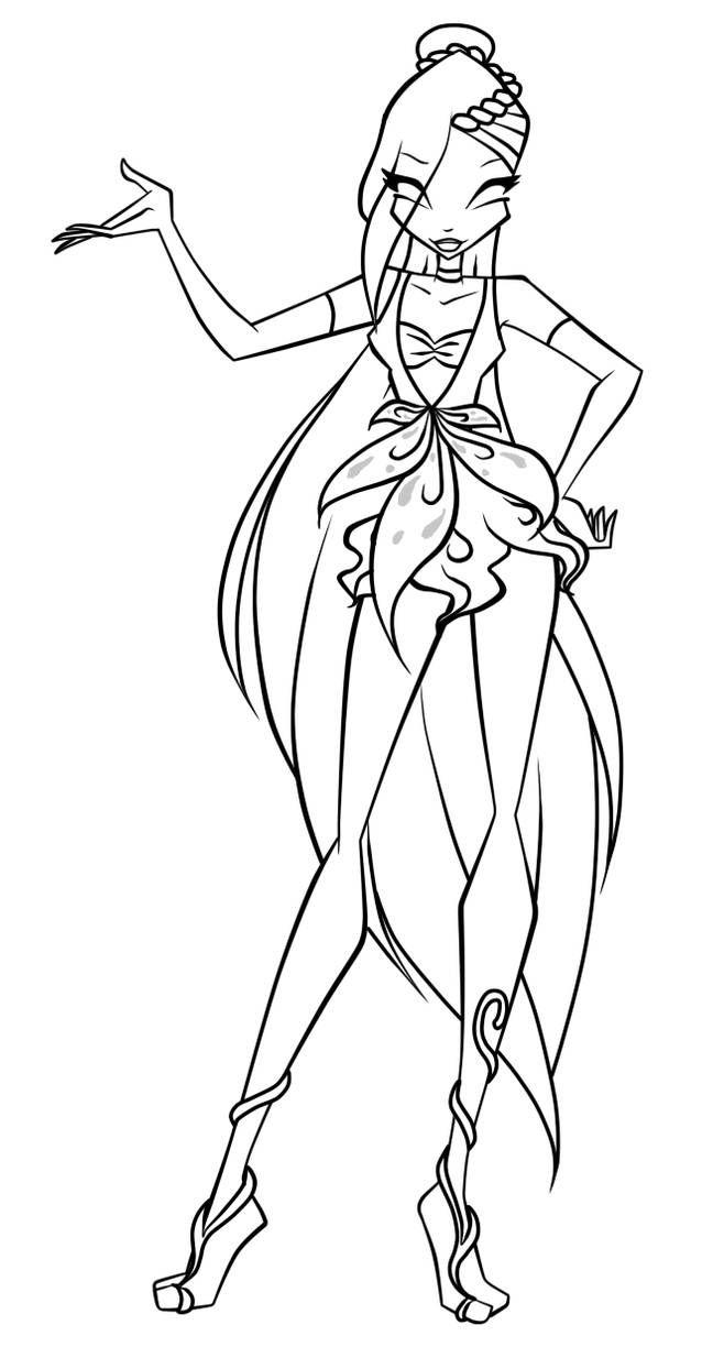 Amanda Enchantix By Krestnaya Disney Princess Coloring Pages Fairy Artwork Princess Coloring Pages