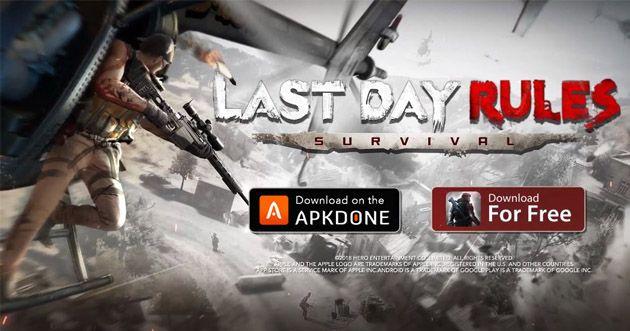Last Day Rules Survival Mod Apk Obb Data File V1 0 Download