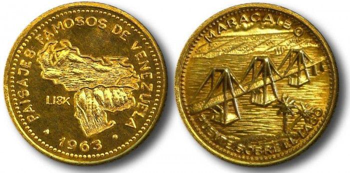 Medallas de Oro Paisajes Famosos de Venezuela  Medallas de Oro Paisajes Famosos de Venezuela. Por Víctor Torrealba.  La serie Medallas de Oro Paisajes Famosos de Venezuela es una colección de medallas de oro acuñadas en 1963 por INTER-CHANGE BANK SUIZA y distribuidas en Venezuela por ITALCAMBIO mostrando varios paisajes de la geografía Venezolana seleccionados por ITALCAMBIO como los mas famosos de la época. Como es costumbre a estas piezas se les a llamado monedas; y realmente no es asì ya…
