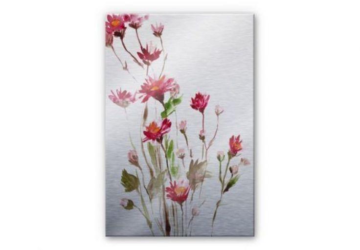 Obraz, dekoracja ścienna, kwiaty na ścianach, sztuka. Zobacz więcej na: https://www.homify.pl/katalogi-inspiracji/18835/dzien-kobiet-w-aranzacji-wnetrz-kwiaty-ktore-nigdy-nie-zwiedna
