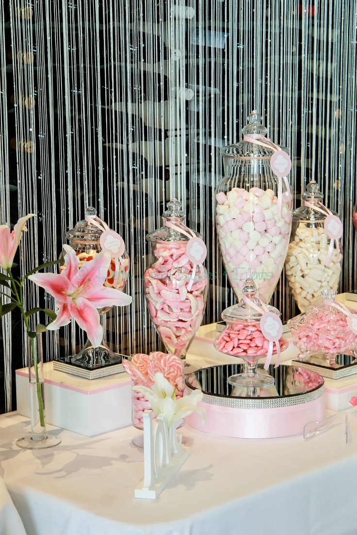 Wedding Lolly Buffet at Bluewater Grill