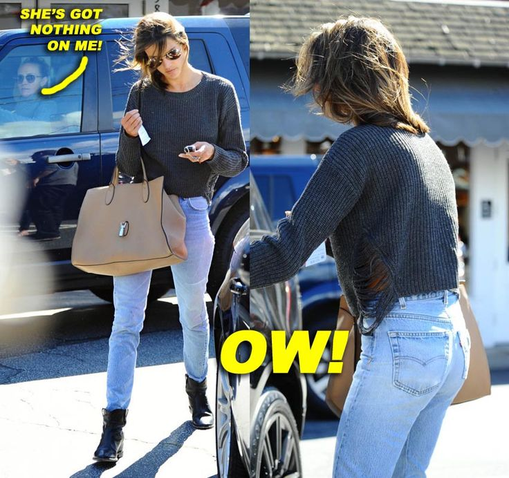 Alessandra Ambrosio Is Today's Parking Lot Catwalker!