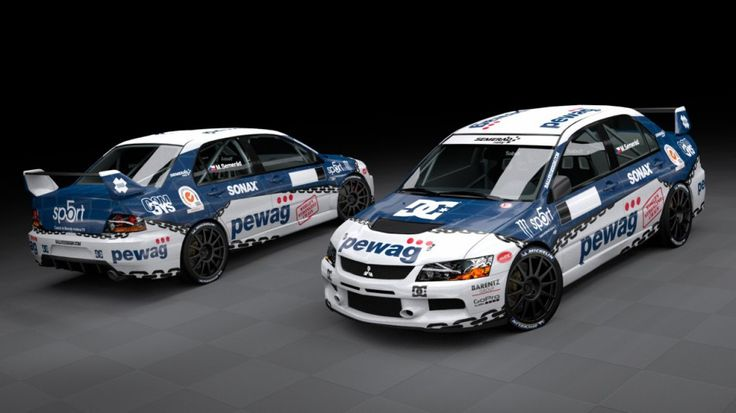 Semerád Rally Team - M. Semerád (Mitsubishi Lancer Evo IX) - new design, first seen at Setkání mistrů 2012.