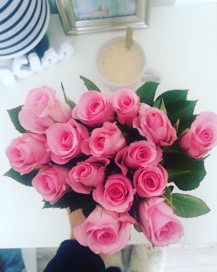 Coffe,flowers