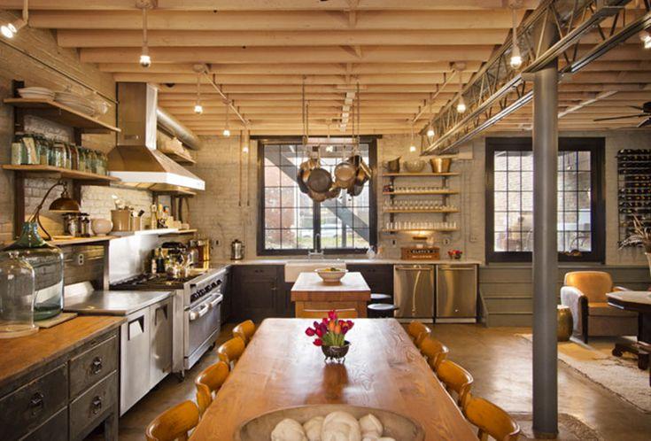 Cucina Stile Industriale 20