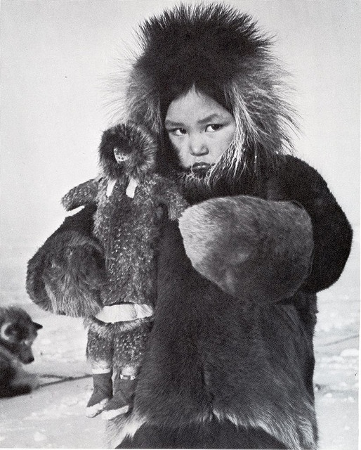 "from Richard Harrington's ""The Inuit: Life as it was"""