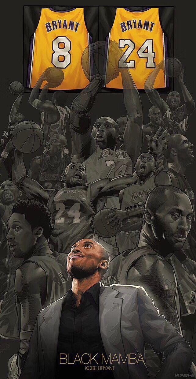 Kobe Jersey Retirement Draw Kobe Bryant Wallpaper Kobe Bryant