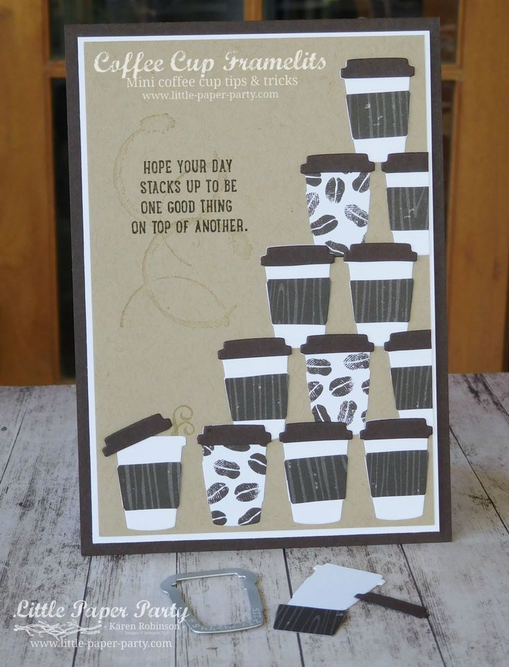 Little Paper Party, Coffee Cup Framelits, Sprinkles of Life, Coffee Break DSP, #6.jpg